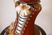 Steampunk Themed Cakes