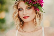 Floral Wedding Headpieces / Discover plenty of wedding hair inspiration right here for any beautiful, modern wedding theme. You'll find loads of bohemian floral headpiece ideas on this board.