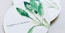 Modern Luxe Botanical Wedding / Inspiration for a modern luxe botanical wedding