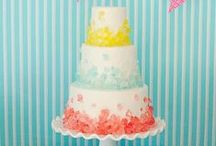 Cake Decorating Inspiration / Tiered cakes, layer cakes & mini cakes galore! This board features cakes for every event from weddings to baby showers to birthdays and more!
