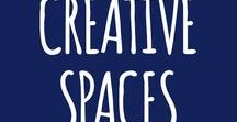 creative spaces / Droolworthy creative spaces of all types.