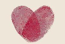 Sydämiä siellä ja täällä