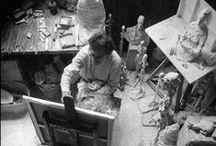 /// atelier d'artiste /// / Décor pour le artist / by nic sarwar