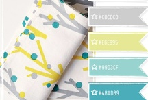 aqua + yellow / love this color combination! {teal, turquoise, aqua, mustard, goldenrod, maze}