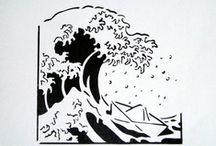 Silouettes and stencils / by Yuli Michaeli