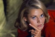 Icon: Jane Fonda / The American actress, writer, political activist, fashion model and fitness guru. / by Deette Kearns