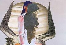 /// art de collage /// / by nic sarwar