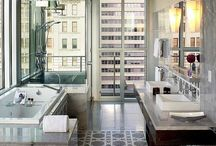 Bathrooms / A functional space for bathing and grooming / by Deette Kearns