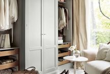 Closets / A cupboard, wardrobe or small room tall enough to walk into / by Deette Kearns