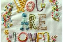 EMBROIDERY / by Baby Raindrops