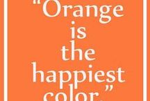 COLOR: Oh, Orange!