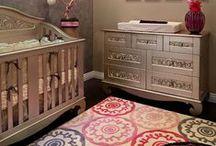 Baby Someday- Girl Bedrooms / by Lenae Hamman