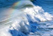 vagues et plages