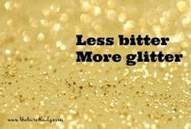 Glam & Glitter / The perfect answer to your bling requirements!