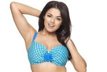 Swimmin' With The Fishes : Full Bust and Plus Size Swimwear SS14 / Don't bust out at the beach! Check out these full-bust looks and awesome accessories!