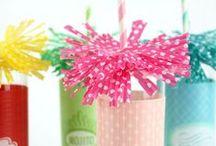 Paper Straw Crafts