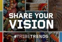 """Tribe Trends / What does """"Tribe"""" mean to you? We're looking for help shaping the creative direction for the new Tribesports range and we need your input! #TribeTrends  Tribe can mean many things; family, warriors, team or clan - it brings to mind patterns, traditions, rites and history. Tribes are found in a football team's chant or in the silence of a yoga studio. But what does it mean to you?  / by Tribesports"""