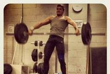 Tribesports: In The Gym / Lifting, Planking and pushing. / by Tribesports
