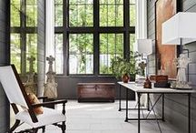Interior Designer Ray Booth and TV Executive John Shea's Nashville home / I love this home so much I am dedicating a board to it. / by Deette Kearns