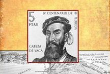 Cabeza de Vaca / Anything related to the Spanish explorer Alvar Nunez Cabeca de Vaca. My first book is a children's biography of his amazing story.