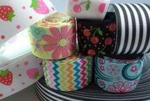 Ribbon / Gorgeous grosgrain ribbon and the many things you can make with it!
