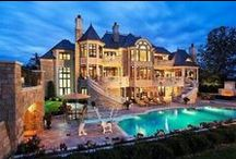 DREAM HOMES❤ / I love beautiful houses and estates! / by ❤ Babette ❤