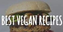 Best Vegan Recipes! / The Ultimate Collection of Vegan (plant-based) Recipes all in one place. Plenty of healthy, raw, gluten-free, low-calorie options too! Includes delicious vegan recipes for breakfast, lunch, dinner, desserts, snacks and everything in between!