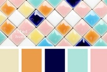 Color Palettes / Color is something that truly inspires me. Here is a collection of great palettes that I would love to see in clients' homes!  / by Kreative Kristina