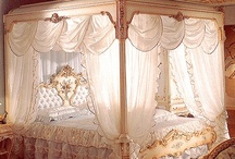 BOUDOIR❤ / LOVE BEAUTIFUL BEDDING AND GLAMMY BEDROOMS❤ / by ❤ Babette ❤