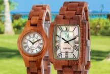 Watches / Wood watches made with Hawaiian Koa and other exotic hardwoods www.martinandmacarthur.com