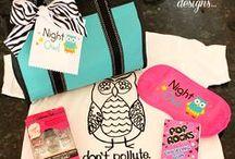 Night Owl Sleepover Party