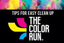 COLOR RUN / The Happiest 5k on the Planet!  Great tips for preparing, how to have the best time and clean-up afterwards!