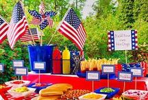 Patriotic Me / All about celebrations!! Decor, Recipes, and entertaining fun!!  I love summer, picnics, entertaining, recipes and ICE CREAM!