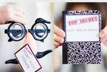 I Spy/Detective Party