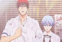 kuroko no basket ^O^ / Kuroko, Hanamiya, Himuro, Akashi, Kise <(@ ̄︶ ̄@)>