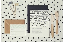 INVITATIONS & PAPER / Wedding and event stationery and invitations  / by Kaella Wilson