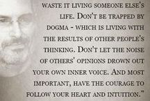 Quotes to live by.. / All kinds of quotes I love
