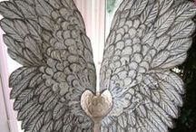 Hearts and Wings / I love, love, love winged hearts / by Josie Benz