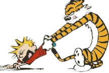 Calvin and Hobbes!!!!   / by Linda Manny