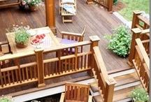 Porches, Entryways, Patios, and Decks / by Erin Sievert