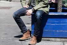 Style Inspiration: Men / by Flying A NYC
