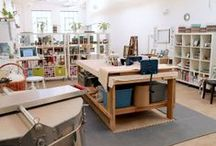 in the studio / from my studio to others around the world #studio #ceramic #artists #workspace #atelier
