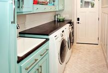 New Home - Laundry/Mud Room / is there a better name than mud room? / by Josie Benz