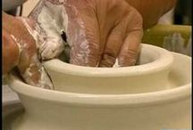 ceramic techniques / tips and tricks related to ceramic work, pottery #ceramic #pottery #technique #demonstrations