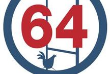 64 revisite son logo