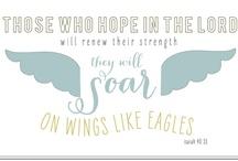 scripture i ♥ / by Rachel Baker