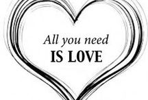 love is all you need / It's all about love / by Vianne Scharloo