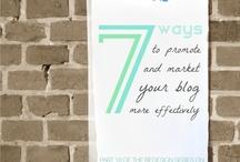 blogging tips / by nash pop