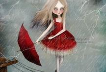 Rain / Sometimes it's sad, sometimes it's happy.  / by Carmela Romano