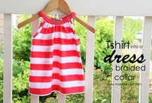 Made with Love {Kids Clothes} / Patterns to create darling dresses, skirts and outfits. A new ambition and goal for myself :-) Can't wait to share what I accomplish. / by Vicki Sipe Probst